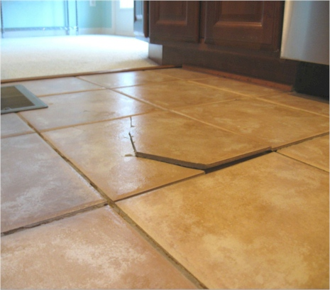 Get Cracked Tiles Professionally Repaired